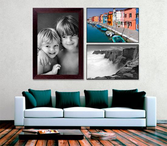 Tirage grand format encadr - Cadre photo grand format ikea ...