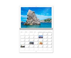 Les calendriers photo avec - Grand calendrier mural ...