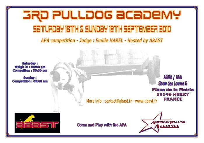 3rd Pulldog Academy 18 & 19 Septembre 2010 M_151041349_0