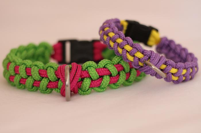 Fabriquer un collier en cordelette nouée (Paracorde) M_346371199_0