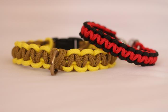 Fabriquer un collier en cordelette nouée (Paracorde) M_346372580_0