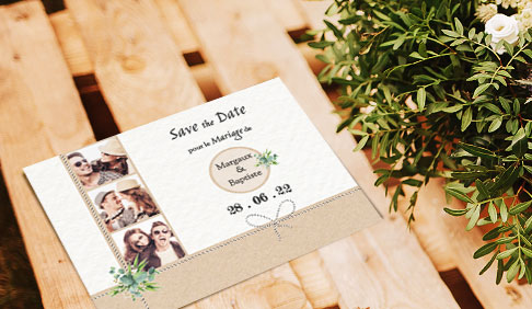 Les save the date à� personnaliser