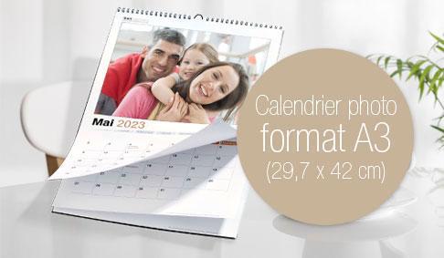 Calendrier photo A3 Premium par photoservicecom
