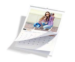 Calendrier Perpetuel Personnalise 365 Jours.Calendrier Photo 2020 A Personnaliser En Ligne Photoservice