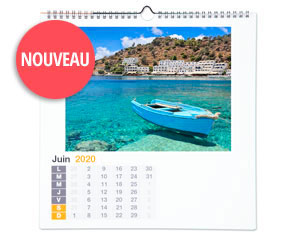 Grand Calendrier Carré