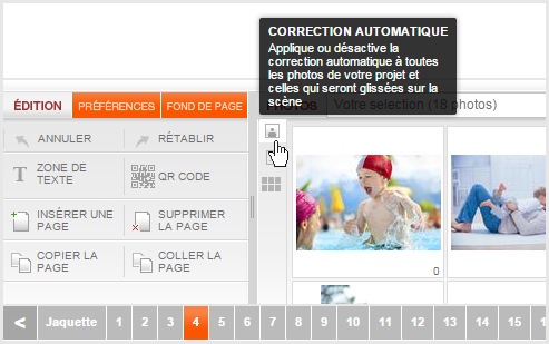 désactiver la correction automatique