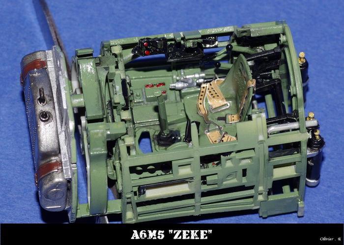 "A6M5 ""zeke"" Tamiya 1/32 M_541042063_0"