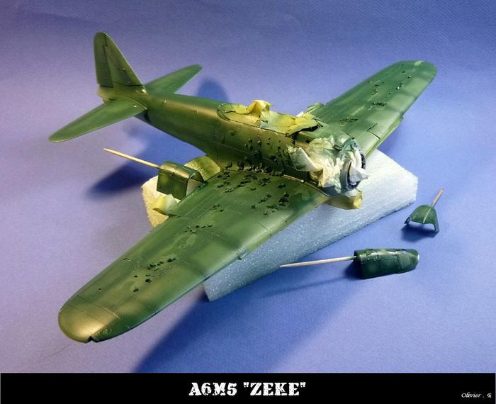 "A6M5 ""zeke"" Tamiya 1/32 M_544563670_0"