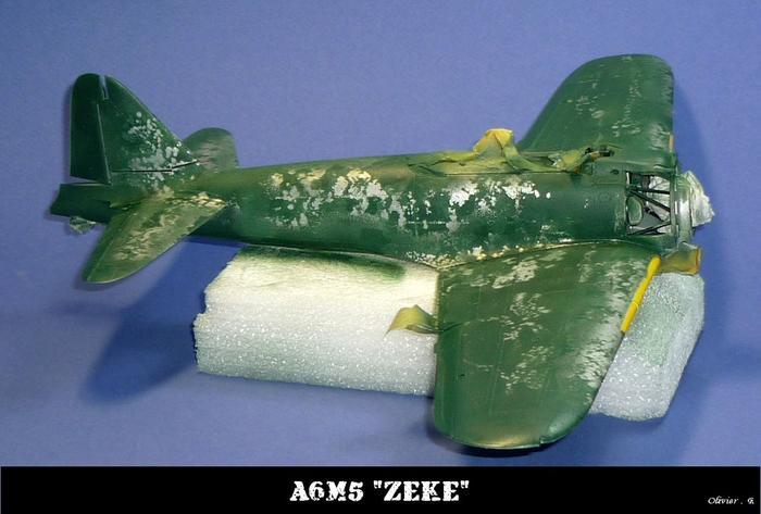 "A6M5 ""zeke"" Tamiya 1/32 M_545205451_0"
