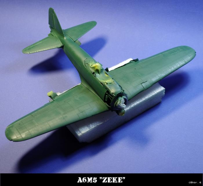 "A6M5 ""zeke"" Tamiya 1/32 M_545587410_0"